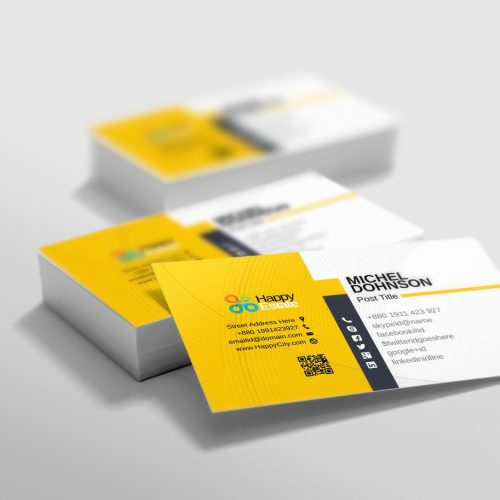 Business cards and stationary design